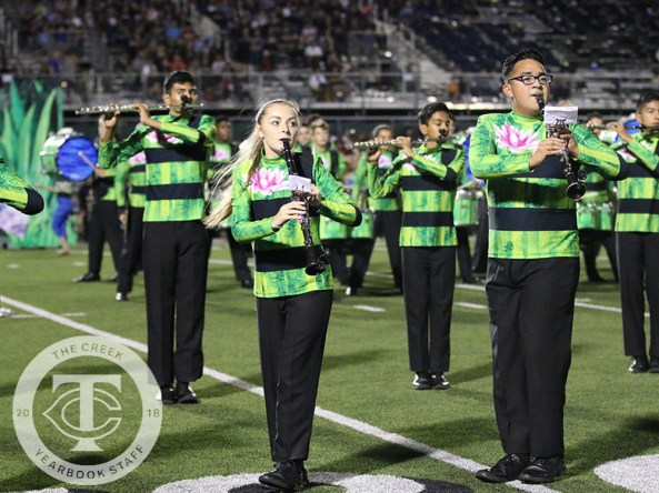Photos from the varsity football game versus Keller High School on Oct. 26, 2017. (Photos by The Creek Yearbook photographer Alexa Evans.)