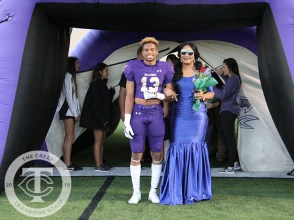 Photos from the Oct. 26, 2017 Senior recognition ceremony before the varsity football game. (Photos by The Creek Yearbook photographer Emma Thornton)