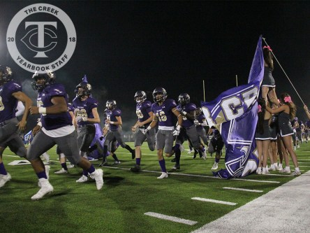 Photos from the 2017 Homecoming Game on Oct. 13, 2017 (Photos by The Creek Yearbook photographer Tia Baynard)