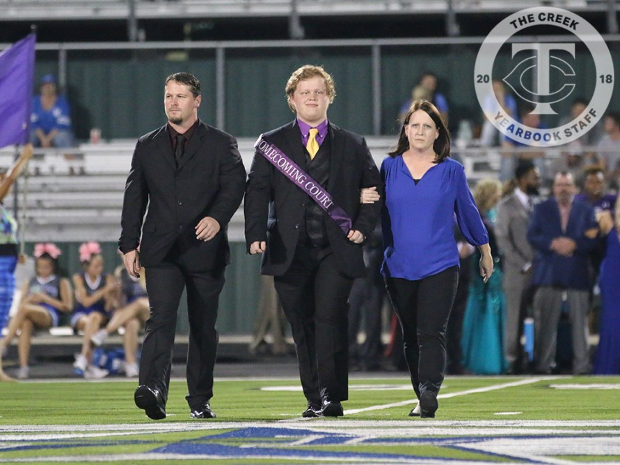Photos from the 2017 Homecoming Game on Oct. 13, 2017 (Photos by The Creek Yearbook photographer Alexa Evans)