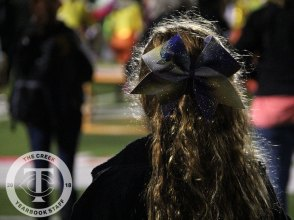 Photos from the Sept. 29 Gold Out varsity football game vs. Fossil Ridge. (Photo by The Creek Yearbook photographer Lauren Quattlebaum.)