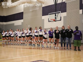 Photos of the 2018 TCHS Volleyball team. (Photos by The Creek Yearbook photographer Ainsley Lawhorne)