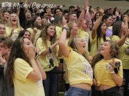 See photos from the Sept. 7, 2018 #GoldOut pep rally from The Creek Yearbook photographers. (Photos by The Creek Yearbook photographer Megan Chormicle.)