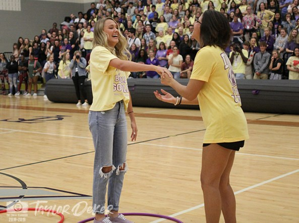 See photos from the Sept. 7, 2018 #GoldOut pep rally from The Creek Yearbook photographers. (Photos by The Creek Yearbook photographer Taylor Deker.)