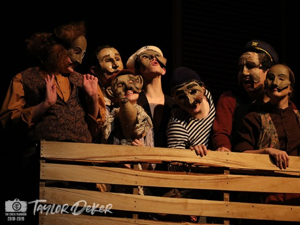 "Photos from the Sept. 17, 2018 dress rehearsal of Timber Creek Theatre's ""The Old Man and the Old Moon."" (Photos from The Creek Yearbook photographer Taylor Deker.)"