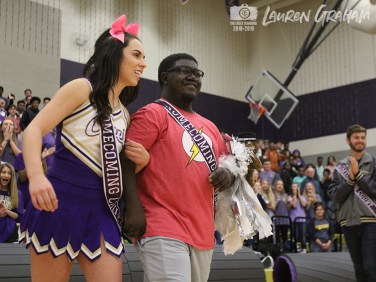 Photos from the Oct. 18, 2018 Homecoming Pep Rally from The Creek Yearbook photographers. (Photos by Lauren Graham)