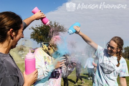 Photos from the Nov. 10, 2018 Falcon Family Color Run from The Creek Yearbook photographer Melissa Hernandez.