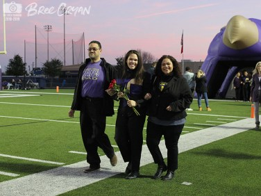 Photos from the Nov. 2, 2018 Senior Night football game against Central High School. (Photo by The Creek Yearbook Photographer Bree Cryan)