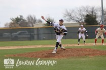 Photos from Varsity Baseball Game on March 8 (Photo by The Creek Yearbook Photographer Lauren Graham)