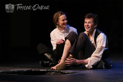 "Photos from the Dress Rehearsal of Timber Creek Theatre's ""Treasure Island"" on April 3, 2019. (Photos by The Creek Yearbook photographer Taylor Deker.)"