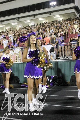 Photos from the Sept. 13, 2019 Timber Creek Homecoming Game and Crowning. (Photos by The Creek Yearbook photographer Lauren Quattlebaum.)