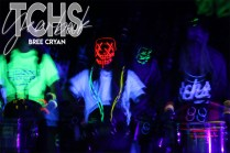Photos from the Lights Out Pep Rally on Oct. 25. (Photo by The Creek Yearbook photographer Bree Cryan)