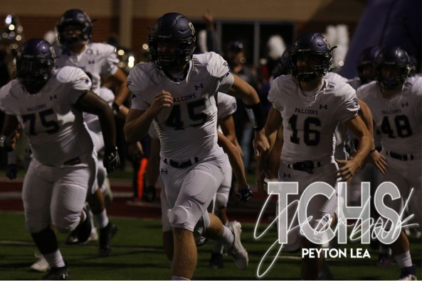 Photos from Varsity Football game against Byron Nelson on Oct. 17th. (Photo by The Creek Yearbook photographer Peyton Lea)