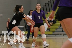 Photos from the Oct. 23, 2019 varsity volleyball game versus Eaton. (Photos by The Creek Yearbook photographer Peyton Lea.)