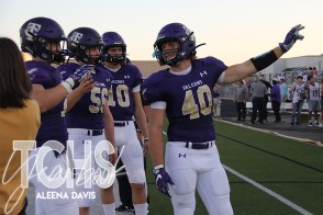 Photos from the Sept. 26, 2019 Gold Out Football Game. (Photos by The Creek Yearbook photographer Aleena Davis.)