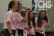 Photos from the Pink Out pep rally on Oct. 10th (Photo by The Creek Yearbook Photographer Peyton Lea)