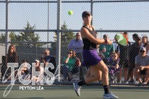 Photos from the Oct. 8, 2019 District Championship Tennis Tournament. (Photos by The Creek photographer Peyton Lea)