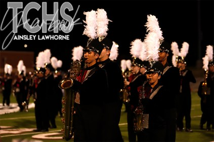 Photos from Varsity Football game against Byron Nelson on Oct. 17th. (Photo by The Creek Yearbook photographer Ainsley Lawhorne)