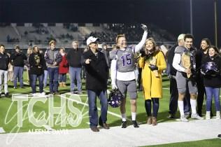 Photos from the Varsity Football Game Senior Walk on Nov. 7. (Photo by The Creek Yearbook Photographer Aleena Davis)