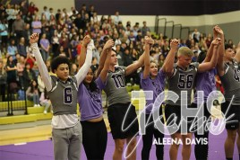 Photos from the the class of 2020s final pep rally on Nov. 7. (Photo by The Creek Yearbook photographer Aleena Davis)