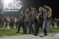 Photos from the Varsity Football Game Senior Walk on Nov. 7. (Photo by The Creek Yearbook Photographer Lauren Graham)