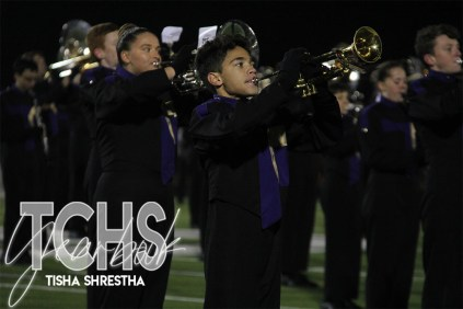 Photos from the Varsity Football Game against Southlake Carroll High School on Nov. 7. (Photo by The Creek Yearbook Photographer Tisha Shrestha)