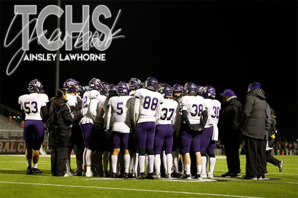 Photos from the Varsity Football Game against Central High School on Oct. 31. ( Photo by The Creek Yearbook Photographer Ainsley Lawhorne)