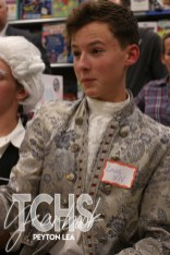 Photos from the Nov. 15 AP European History Enlightenment Salon (Photo by The Creek Yearbook photographer Peyton Lea)