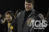 Photos from the Varsity Football Game Senior Walk on Nov. 7. (Photo by The Creek Yearbook Photographer Tisha Shrestha)