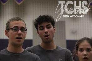 Photos from the the class of 2020s final pep rally on Nov. 7. (Photo by The Creek Yearbook photographer Bren McDonald)