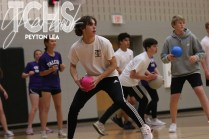 Photos from the dodgeball tournament held by the Baseball program on Dec. 6. (Photo by The Creek Yearbook photographer Peyton Lea) )