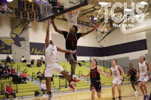 Photos from the Boys Basketball Game on Dec. 3 vs Fort Worth Christian. (Photo by The Creek Yearbook Photographer Temi Ejuwa)