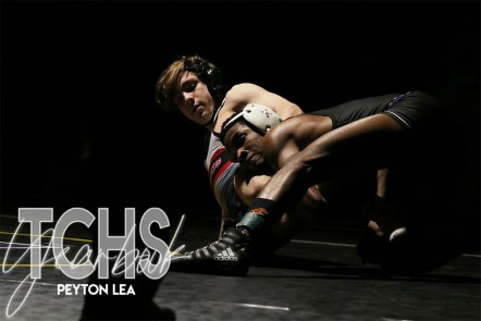 Photos from the Jan. 29 Wrestling match against Marcus. (Photo by The Creek Yearbook Photographer Peyton Lea)