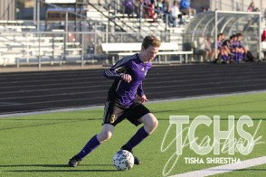 Photos from the JV/9 boys soccer game on Jan. 24. (Photo by The Creek Yearbook photographer Tisha Shrestha)