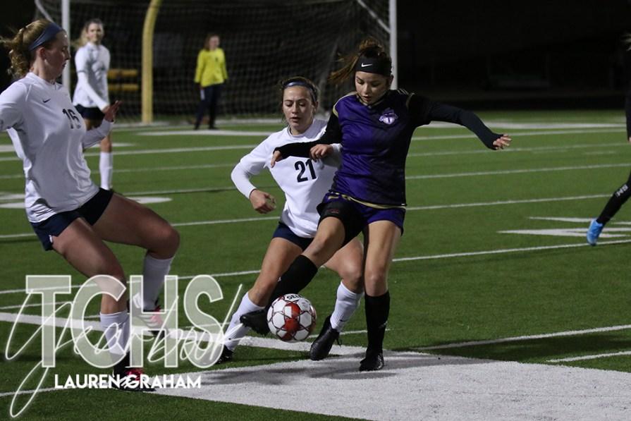 PHOTOS: Girls Soccer Game Against Keller on Jan. 28