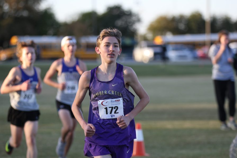Cross Country Team Runs Towards Their Goal of Making Regionals