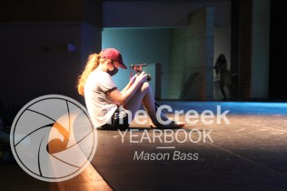 """Photos from the Falcon Theatre production of """"Peter Pan."""" (Photo by The Creek Yearbook photographer Mason Bass.)"""