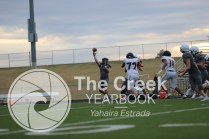 Photos from the JV football game vs. West Mesquite on Oct. 15. (Photo by The Creek Yearbook photographer Yahaira Estrada)