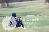 Photos from the Varsity Golf match at the Iron Horse Golf Course on Oct. 19. (Photo by The Creek Yearbook photographer Yahaira Estrada)