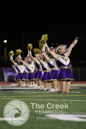 Photos from the Oct. 2 varsity football game vs. Burleson. (Photo by The Creek Yearbook photographer Emma Margason)