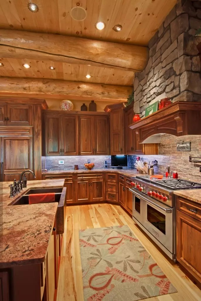 Old Style Country Kitchens