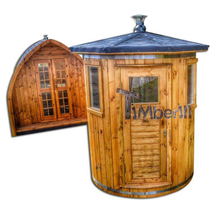 Marvelous Sauna Extérieur Pour Un Espace De Jardin Limité