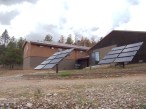 Solar panels, house, and shop. (2)