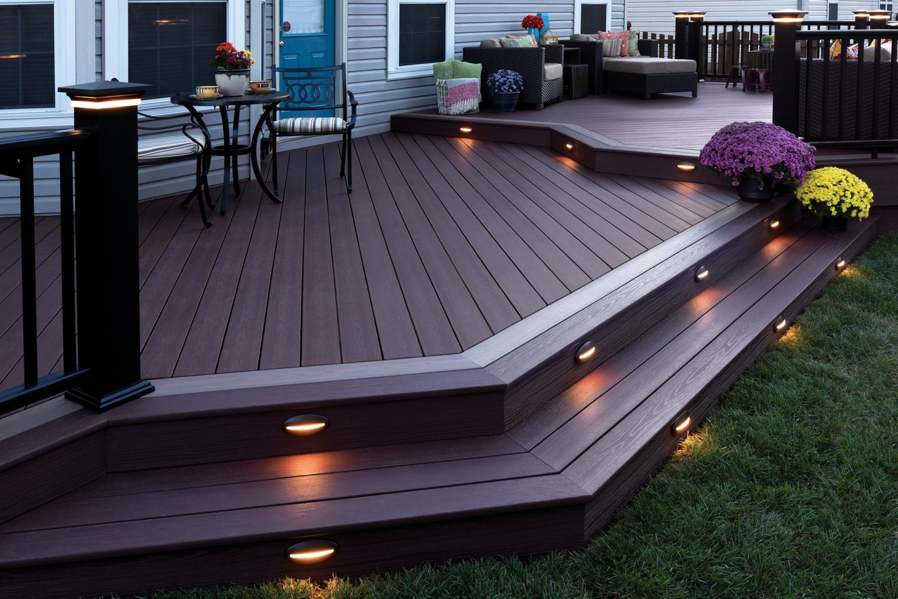 Outdoor Deck Lighting Ideas Timbertech