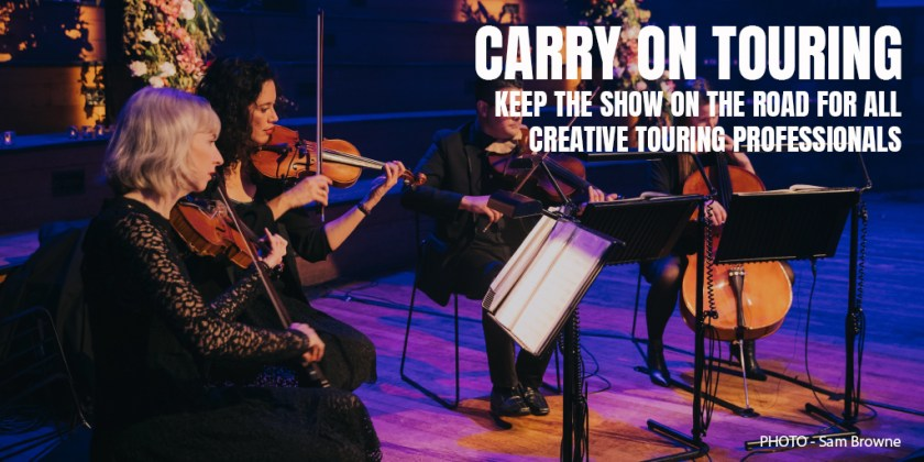 KEEP THE SHOW ON THE ROAD FOR ALL CREATIVE TOURING PROFESSIONALS
