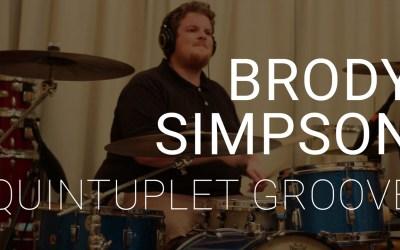 Brody Simpson | Quintuplet Groove | Transcription