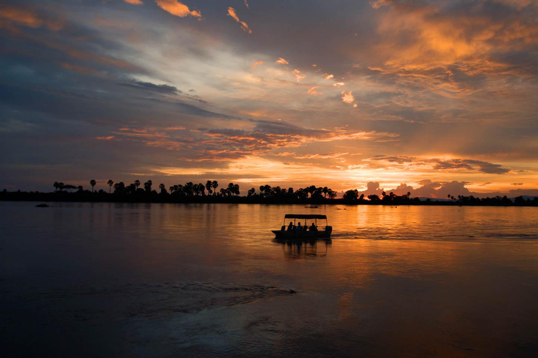 selous-rufiji-sunset-boat-cruise-timbuktu east africa safaris