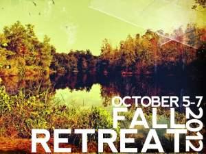 Fall Retreat 2012 powerpoint slide