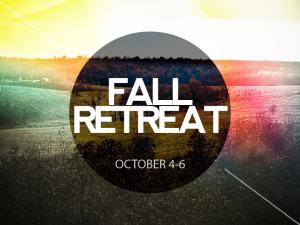 Fall Retreat 2013 powerpoint slide