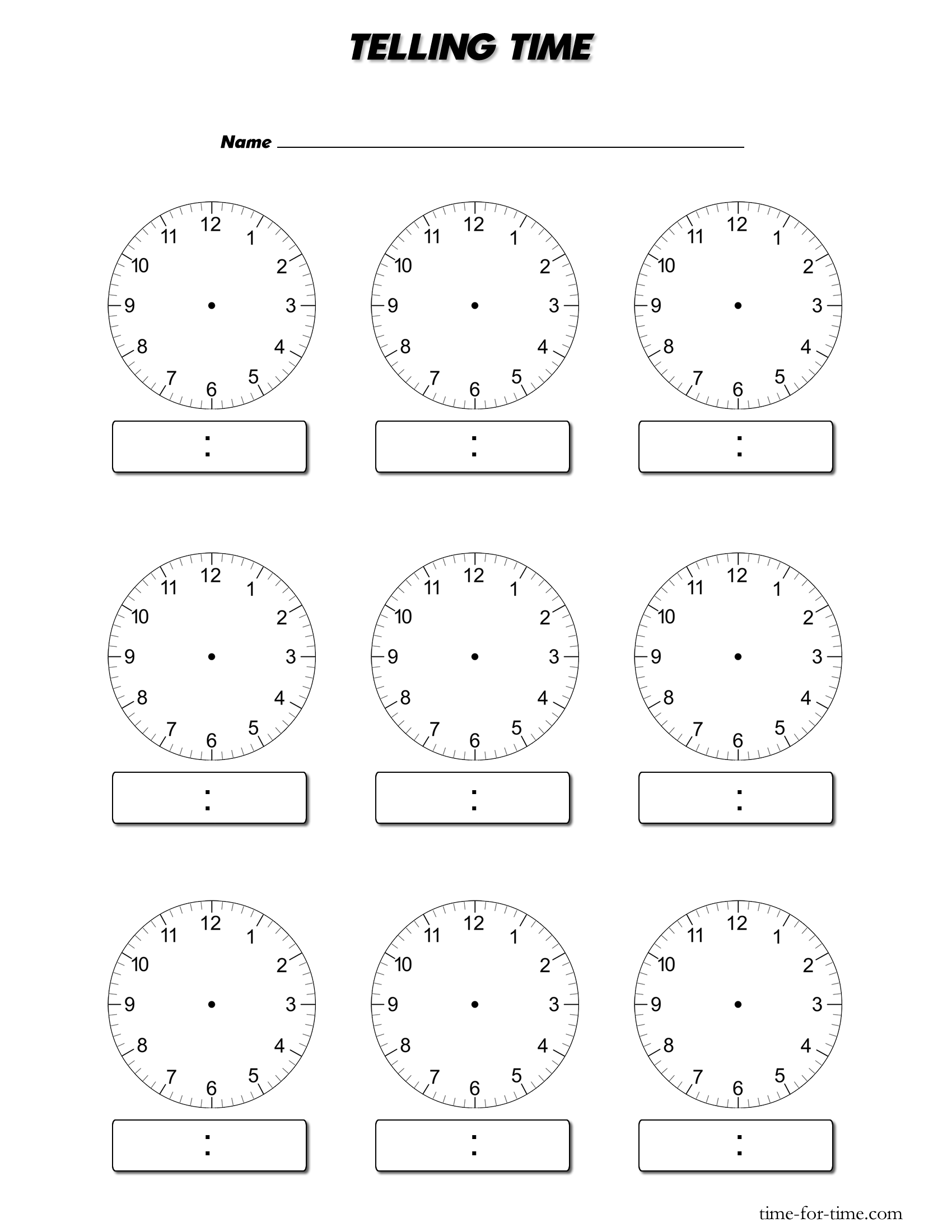 Free Worksheet Digital Clock Worksheets digital clock template telling worksheets download blank 550 x 13 kb gif blank